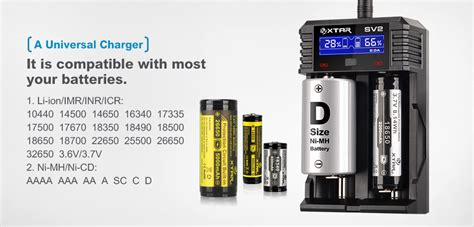Charger Vape Original 18650xtar Sv2 Rocket Battery Charger 2 Slot xtar rocket sv2 battery charger vaping underground