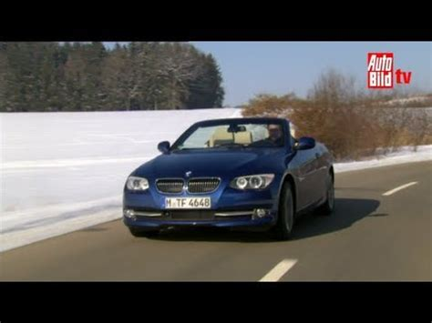 Bmw 3er Cabrio Youtube by Bmw 3er Coup 233 Cabrio Facelift Des Bayers Neue Kleider