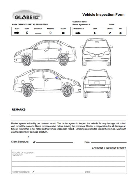 vehicle report diagram vehicle damage report vehicle ideas