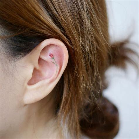 ear tattoos ideas behind the ear tattoos for guys and girls