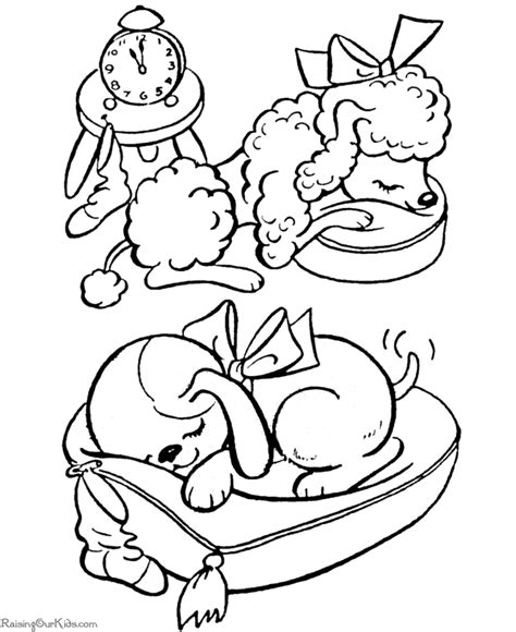 dog coloring pages for kids printable kids coloring