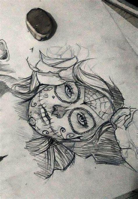 tattoo designs catrinas