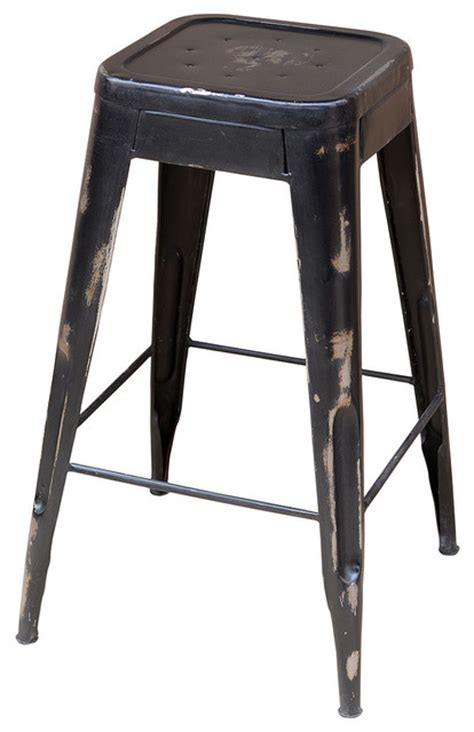 houzz stools industrial bistro barstool eclectic bar stools and