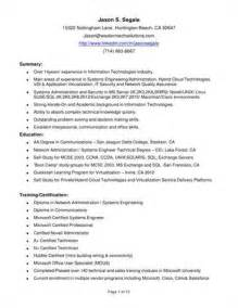 Active Directory Administrator Sle Resume by Active Directory Resume Arizona Process Of Setting Noc