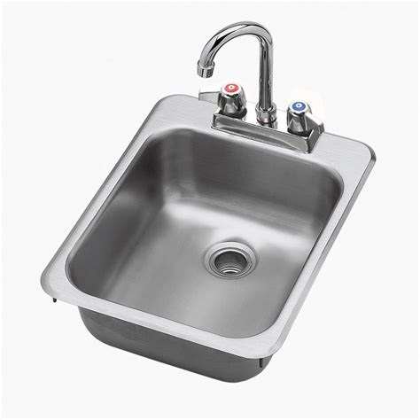commercial drop in sink krowne hs 1317 drop in commercial hand sink w 10 quot l x 12 quot w