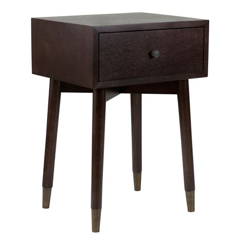 accent table sale east at main weeks brown acacia wood square accent table