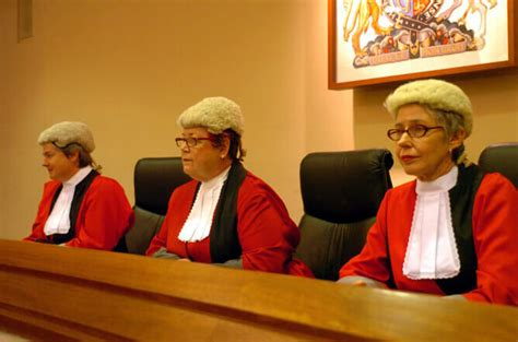 bench of judges judicial appointment of women on the decline in canada and