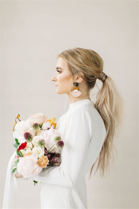 bridal hairstyles ponytail gorgeous and stylish ways to amp a ponytail hairstyle for
