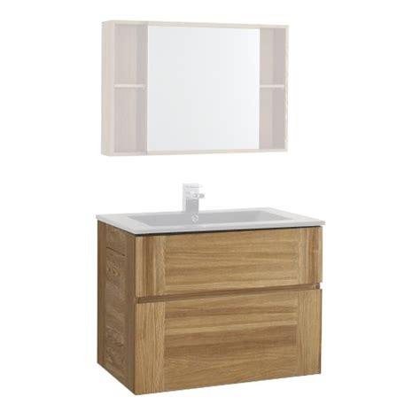 meuble sous vasque 80 cm essential castorama