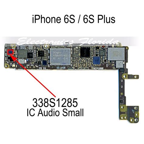 ic 338s1285 audio small ic chip replacement for iphone 6s 6s plus b596 ebay