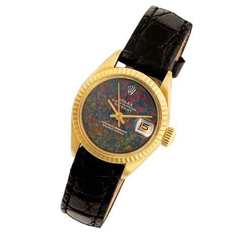 s rolex datejust 6917 gold custom australian black