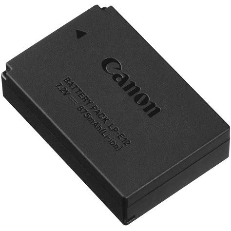 canon lp e12 lithium ion battery pack 7 2v 875mah 6760b002
