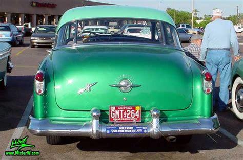 4 Car Garage 1952 Oldsmobile Rearview 1952 Oldsmobile 88 Sedan