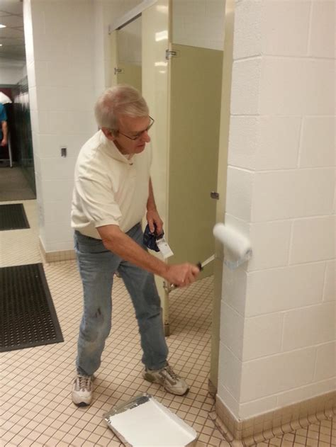 kiwanis club teams up with key clubs to paint hilliker