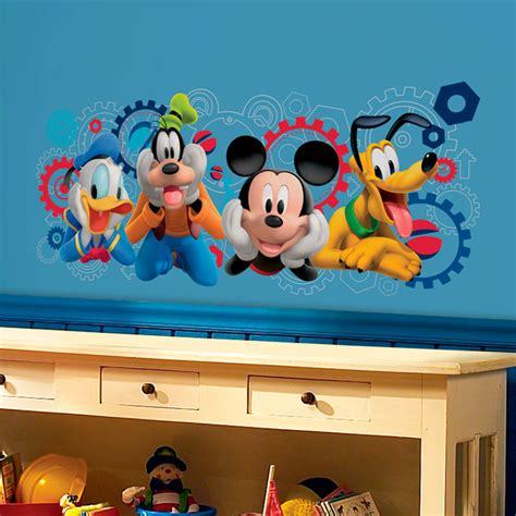 Stelan Baby Mickey stickers muraux disney webstickersmuraux