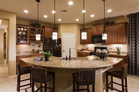 Pendant Lights Over Kitchen Island Pulte Homes Quot Enchantment Quot Model Home Vail Arizona