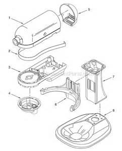 kitchenaid ksm500pswh0 parts list and diagram