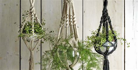 How To Make A Macrame Plant Holder - diy macrame plant hangers diy better homes
