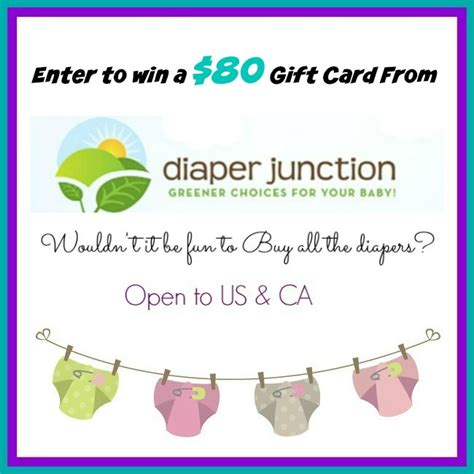 Diaper Gift Card - diaper junction 80 gift card giveaway zephyr hill