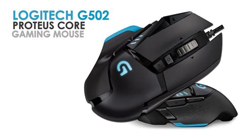 Logitech G502 Proteus Gaming Mouse logitech g502 proteus tunable gaming mouse unpacking