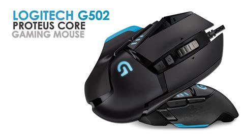 Logitech Gaming Mouse G502 Proteus Spectrum T1910 2 logitech g502 proteus tunable gaming mouse unpacking