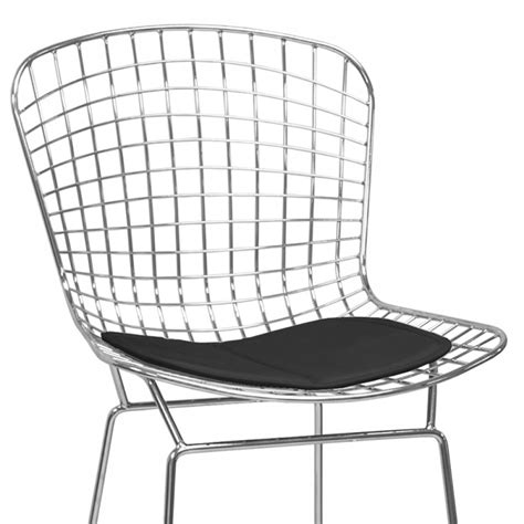 Wire Back Counter Stool by Chrome Wire Counter Stool