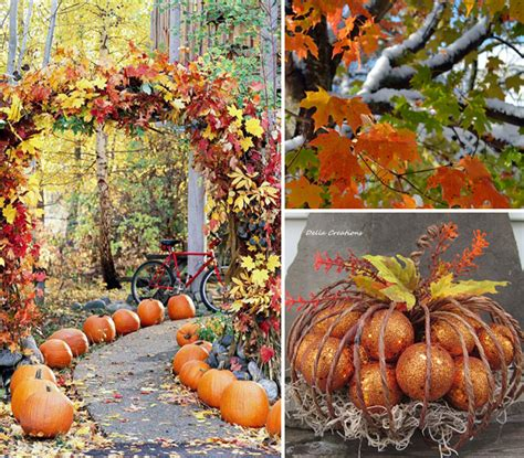 outside fall decorating ideas pictures outdoor decor for fall house experience
