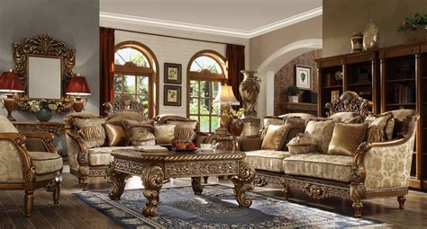 Fancy Living Room Sets - new formal luxury classic european style 6 living