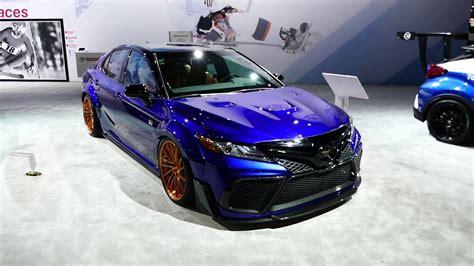 toyota camry custom 2018 custom toyota camry xse sedan exterior tour