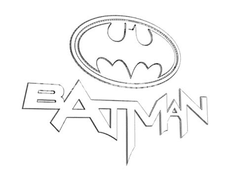 detailed batman coloring pages batman logo coloring pages intended for symbol page