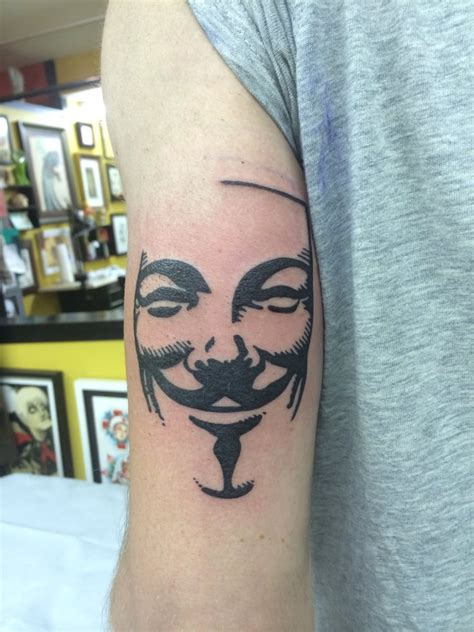 guy fawkes tattoo fawkes mask by tim corun at jinx proof yelp