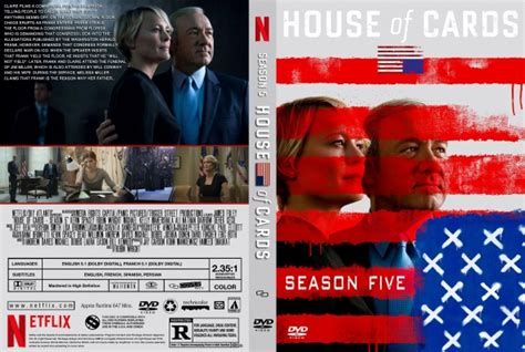 buy house of cards dvd house of cards season 5 dvd covers labels by covercity