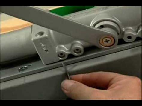 Adjusting Door Closer by Closer How To Adjust Just About Any Door Closer Norton