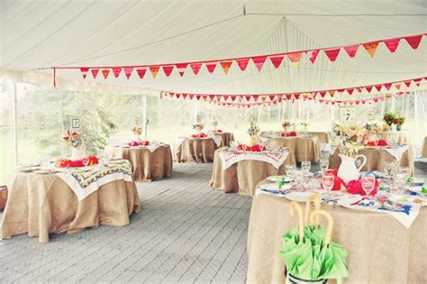 Handmade Wedding Decorations Ideas - handmade wedding ideas reception decor bunting banners 4