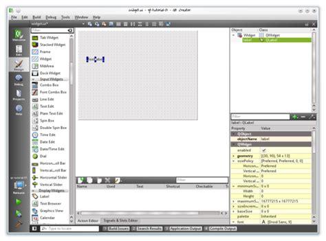 qt toolbar tutorial basic qt programming tutorial qt wiki