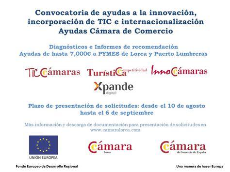convocatoria de ayudas y bases para el fomento de la ayudas de hasta 7 000 para pymes y aut 243 nomos de lorca y