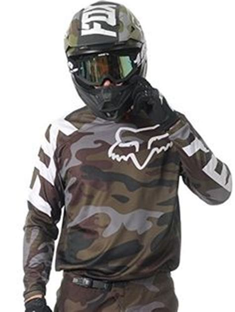 camo motocross gear fox racing 180 camo s road motorcycle jerseys