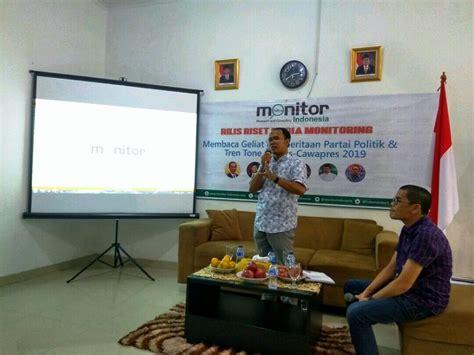 Monitor Jakarta cak imin tinggi pemberitaan rendah elektabilitas kenapa