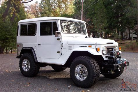 toyota jeep white 1975 toyota land cruiser fj40 heacock classic insurance