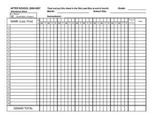 And attendance sheet excel worksheets template template template