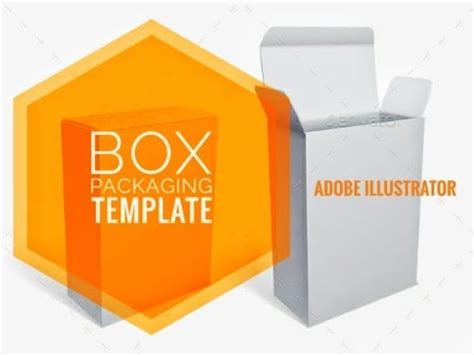 adobe illustrator packaging templates create box packaging template in adobe illustrator