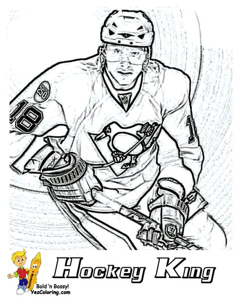 college hockey coloring pages hat trick hockey coloring sheets free hockey players