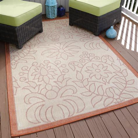 Kmart Outdoor Rug Lavish Home Botanical Garden Indoor Outdoor Area Rug