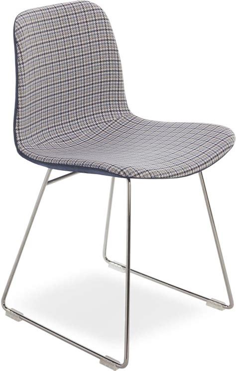 stuhl metallgestell moderne stuhl mit metallgestell sitz in stoff idfdesign