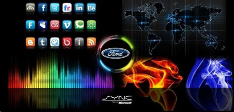 Sync 2 Wallpaper With Apologies To Sync 3 Owners Ford Sync 2 Wallpaper Template