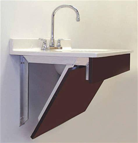18 Deep Bathroom Vanity by Rangine Corp Rakks Crashrails And Supports