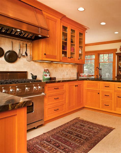 vertical grain douglas fir kitchen traditional kitchen