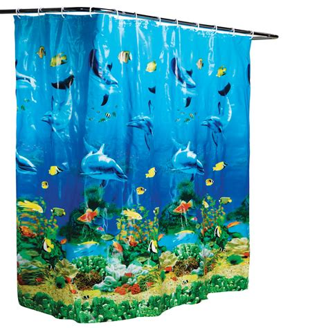 fishing themed shower curtains dolphin theme decor house home