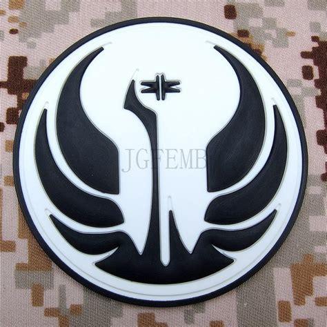Patch The Last Jedi Emblem Starwars Bordir Order wars jedi order logo wallpaper