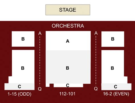 new world stages seating chart stage 2 new world stages new york ny seating chart and